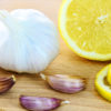 Flu remedies using lemon and garlic